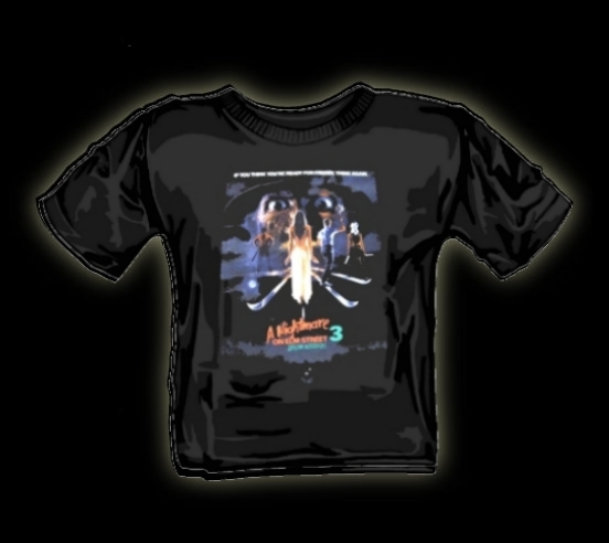 nightmare on elm street dream worriors t shirt