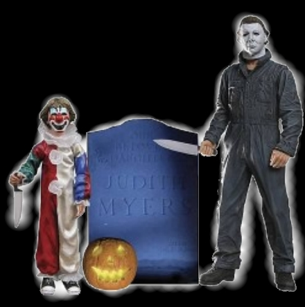 Michael Myers Evolution Of Evil Collectors Set