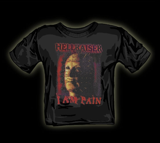 pinhead I am pain t shirt