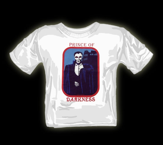 Prince of Darkness t shirt