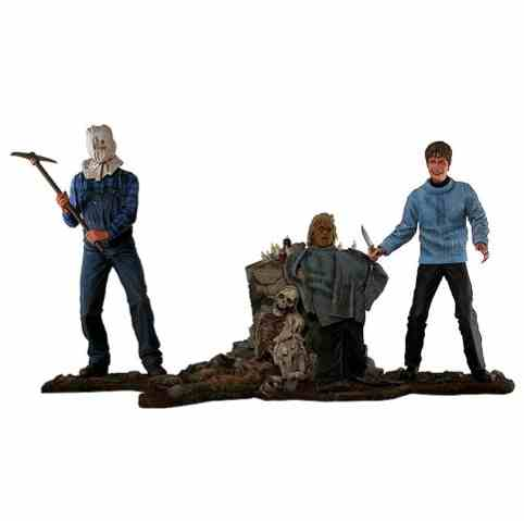 Friday 13th 25th anniversary figure boxset