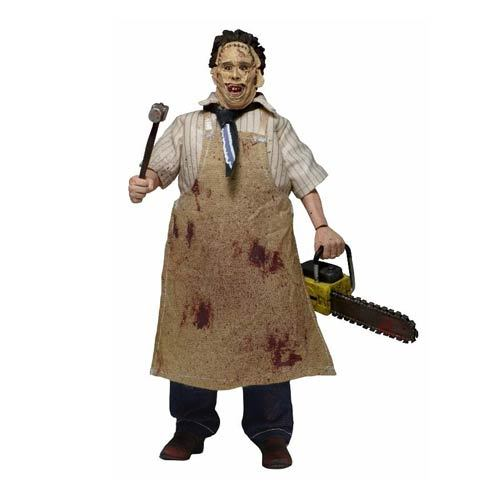 new leatherface retro figure