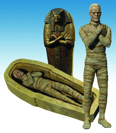 Universal monsters retro mummy figure