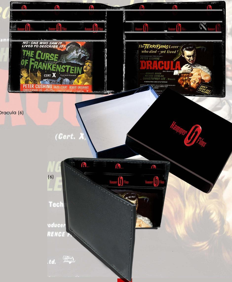 hammer horror wallet