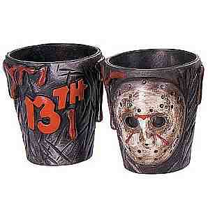Friday 13th shot glasses