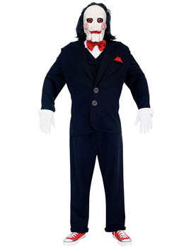 Deluxe Jigsaw puppet costume