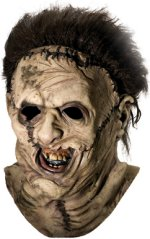 Deluxe new leatherface mask