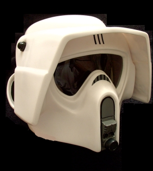 Scout trooper collectors helmet