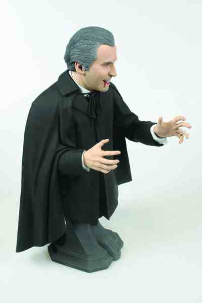 Christopher Lee Dracula bust