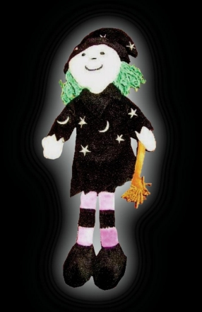 Witch soft plush doll