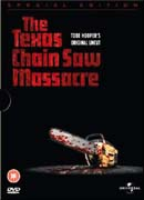 Texas Chainsaw massacre DVD