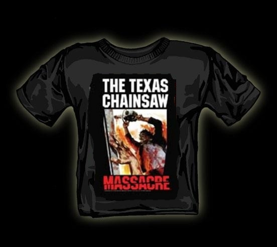 Texas chainsaw massacre italian poster t shirt