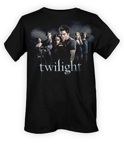 Twilight group t shirt